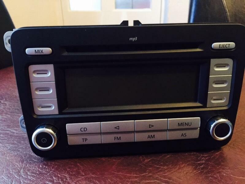 vw rcd 300 mp3 car stereo in hayes london gumtree. Black Bedroom Furniture Sets. Home Design Ideas