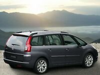 Car Hire with driver - 7 Seater MPV
