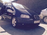 Seat Alhambra 1.9 tdi 130 bhp 2 previous owners