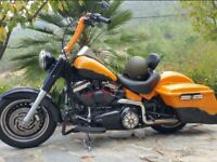 Delivery Available Stunning Custom Harley Davidson 1584cc Fatboy Bagger 2011