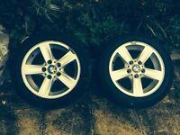 Original genuine BMW alloy wheels 16inch 1 series x2