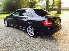LATE 2011 C250 CDI AMG SPORT ** MANUAL ** TWIN TURBO MODEL ** 210 BHP