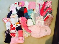 Lot of Girl Clothing NB-24 months 101 Pieces $75