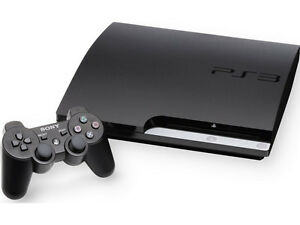ps3 slim 160gb with 30 games