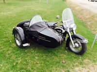 1961 Harley Davidson and 1961 sidecar