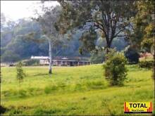 TOTAL Large Brick Home, 5 Bay Shed Plus, 33.46ac, Permanent Creek Wolvi Gympie Area Preview
