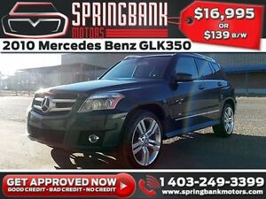 2010 Mercedes Benz GLK-Class GLK350 4MATIC w/Leather, Sunroof $1