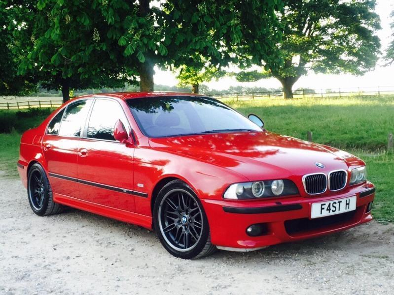 BMW E39 M5 imola red low miles | in Hazlemere ...