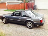 1989 Ford Mustang (25th anniversary)