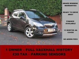 2013 (13) Vauxhall Mokka 1.7CDTI 16V EXCLUSIV S/S 130PS, BLACK, DIESEL, MANUAL