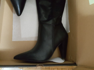 BRAND NEW 110.00 HIGH BOOTS - SIZE 8
