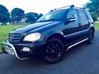 Mercedes ML 270 CDI 5dr Black, Full Service History, Bull Bars, Side Steps 2 Keys
