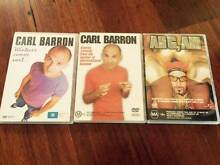 2 Carl Barron dvds and Ali g aii Hammond Park Cockburn Area Preview