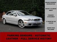 2009 Jaguar X-Type 2.2D S, DIESEL, SILVER, AUTOMATIC, FULL LEATHER
