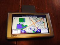 Garmin nuvi 650 with 2014 maps great shape.