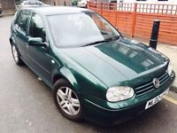 2002 VW GOLF TDI S 6 SPEED MANUAL VERY NIPPY AND A PLEASURE TO DRIVE