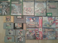 Bunch of Games !!!!!!! nintendo, snes N64 and more!