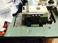 JUKI STRAIGHT & SERGER SEWING MACHINE FOR SALE