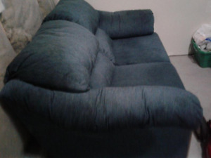 Navy Blue Sofa - drop off included today only