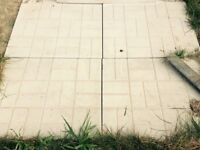 6 LARGE PATIO SLABS 2x 2.5 FT