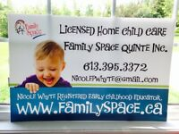 Established & Licensed Home Child Care / Daycare