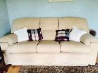 Hardly used sofa
