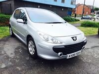 PEUGEOT 307 1.4 S, 5 DOOR HATCH, 60K MILEAGE ONLY, FULL SERVICE HISTORY