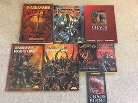 Warhammer chaos book bundle