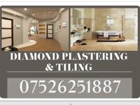 PLASTERING AND TILING
