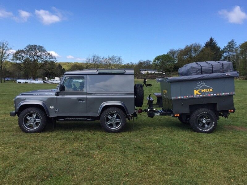Overland Expedition Camping Trailer for Land Rover 4x4