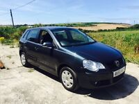 VOLKSWAGEN POLO S 75 1.4 GREY 5DR 2005