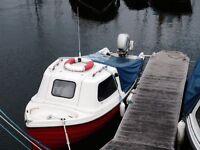 Orkney fastliner fishing boat