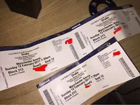 Drake Tickets Sunday 12th February Manchester x3 & x2