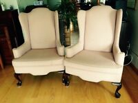 Wingback Chairs - Vogel Manufactured