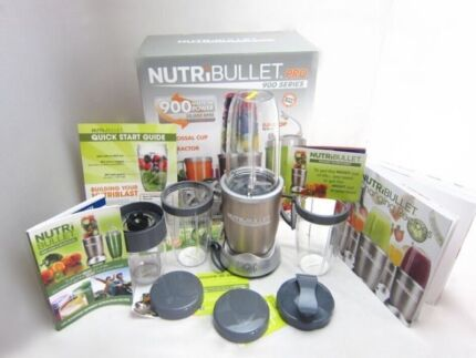 NUTTRIBULLET PRO 900W AUST VERSION Blair Athol Port Adelaide Area Preview