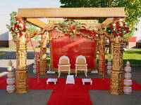 Golden Devdas Mandap for Rent in Ottawa/Kanata
