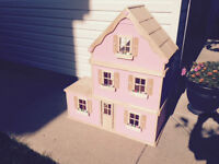Hand-made Wooden Classic Dollhouse