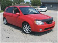 2006 Kia Spectra 5 $5,995 cert + hst or $165 / month OAC*
