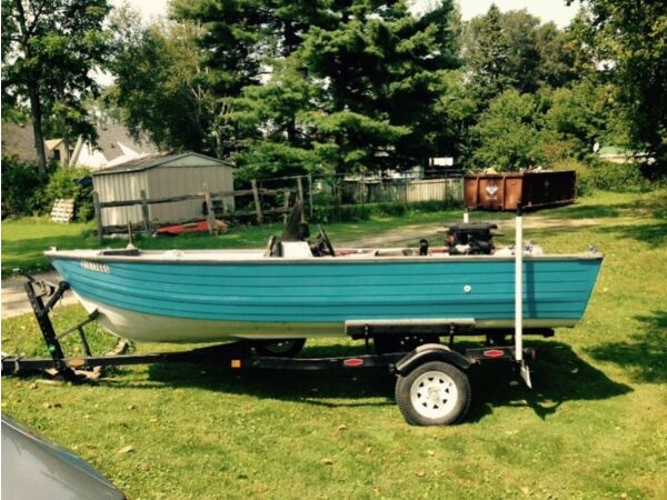 1998 Crestliner fishermans del