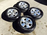 """17"""" Toyota Tacoma TRD Rims and Tires CHEAAP"""