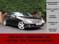 2005 Mercedes CLS CLS500, BLACK, AMG, PETROL, HARMAN KARDON, COMMAND SAT NAV