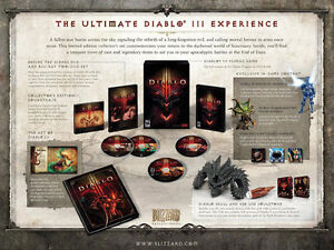 Diablo 3 CE | Brand New Sealed in Box | White Box | 375 Kitchener / Waterloo Kitchener Area image 1