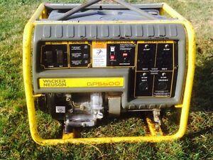 5600 watt Wacker Neuson generator