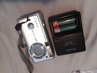 Point&shoot canon PowerShot400 w AA battery charger