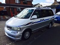 Nissan largo highway star automatic diesel n reg 7 seater with bed 1 year mot