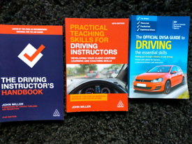Selection of Driving Instructor handbooks