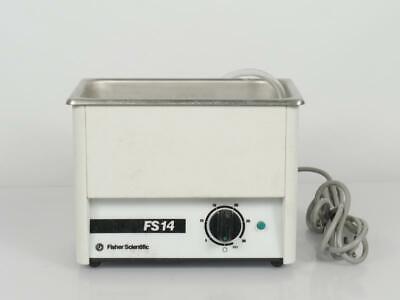 Fisher Scientific Fs14 Ultrasonic Cleaner Water Bath No Lid