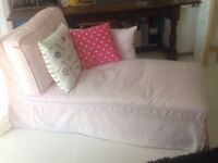 Ikea pink chaise good condition £75