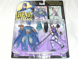 1995 LEGENDS OF BATMAN: EGYPTIAN BATMAN / EGYPTIAN CATWOMAN