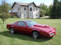 84 Firebird complete restoration (400HP)